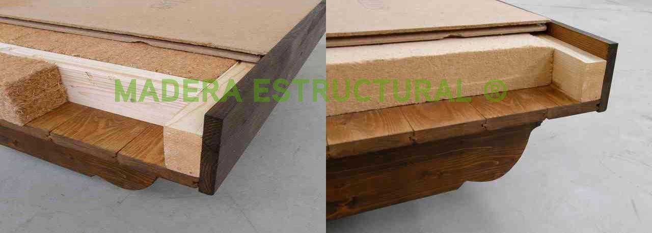 Julio 2013 madera estructural for Tejados de madera antiguos