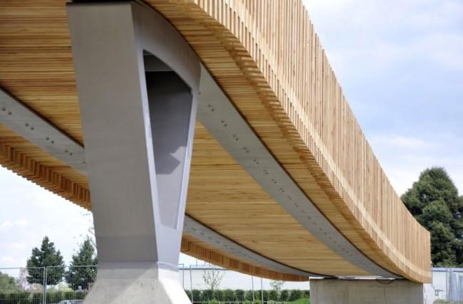 Puente de madera en Tirschenreuth