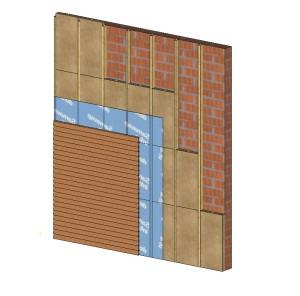 Muro de fachada ideal - Madera Estructural