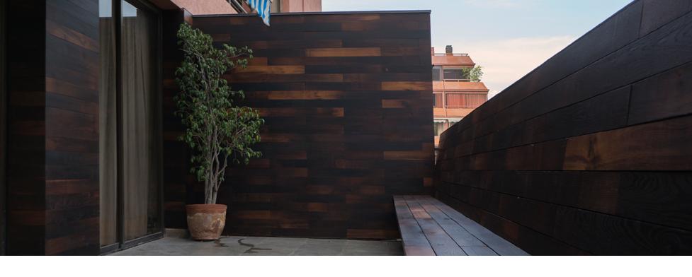 Barrica madera estructural for Revestimiento exterior zinc