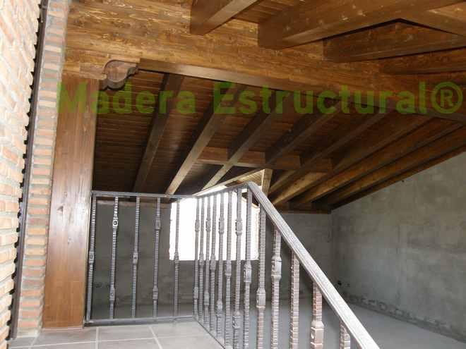 Madera estructural madera estructural for Tejados de madera
