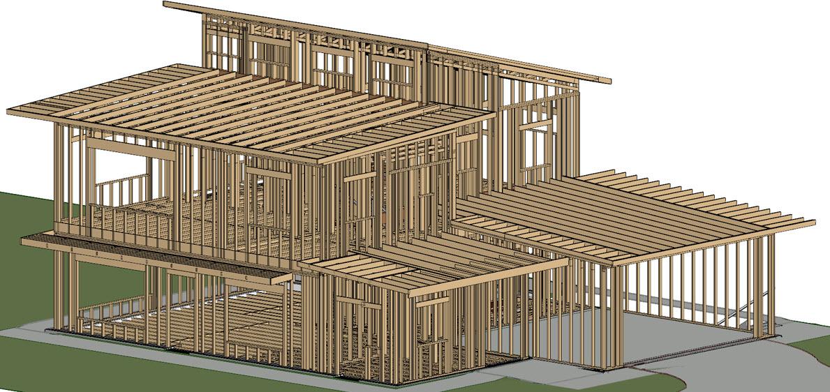 casa de madera | Madera Estructural
