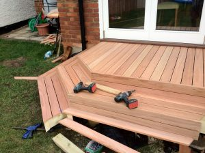 Eucalipto colorado - decking en Argentina