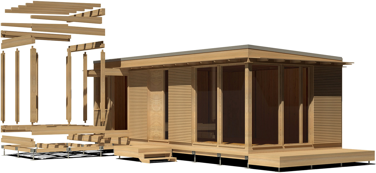 Paneles para casas modulares