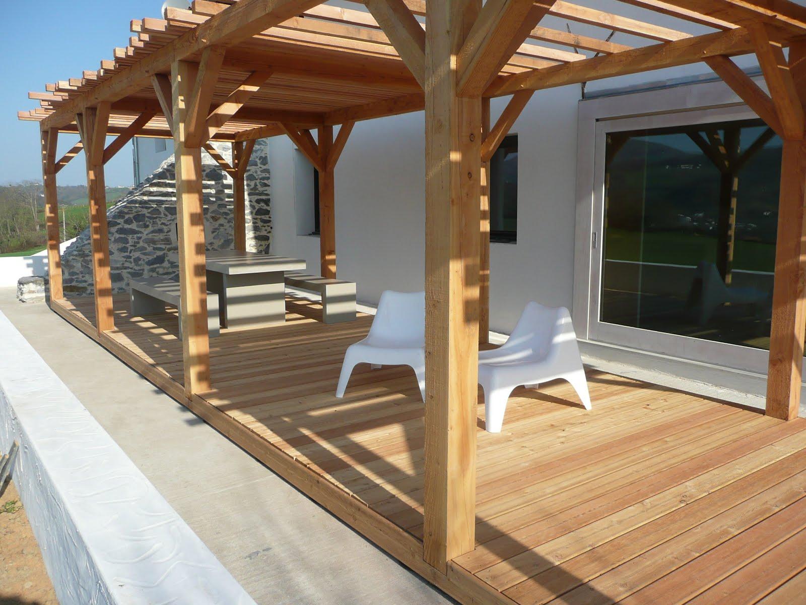 Sobre pérgolas y porches – protección por diseño | Madera Estructural