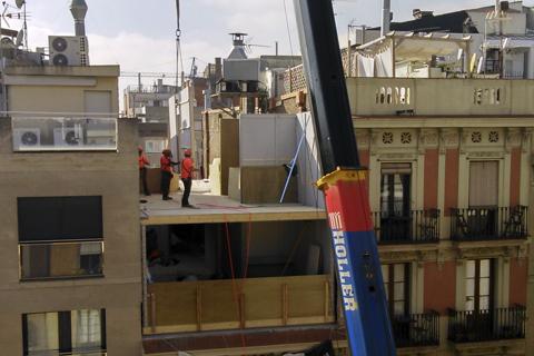 Madera contralaminada madera estructural - La casa en el tejado ...
