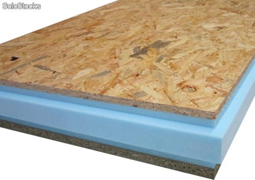 Madera contralaminada madera estructural for Tejados de madera thermochip