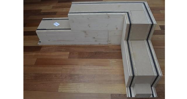 casas de madera madera estructural. Black Bedroom Furniture Sets. Home Design Ideas
